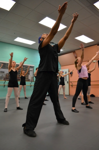 Keith w.dancers